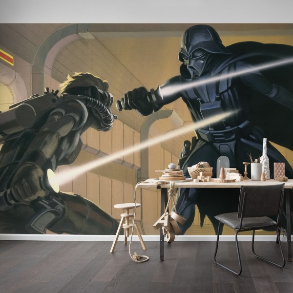 "Star Wars Vlies Fototapete ""Star Wars Classic RMQ Vader vs Luke"""