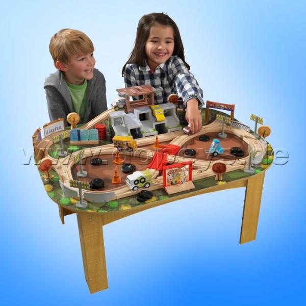 Disney Pixar Cars 3 Eisenbahnset & Spieltisch Thunder Hollow von Kidkraft 17211