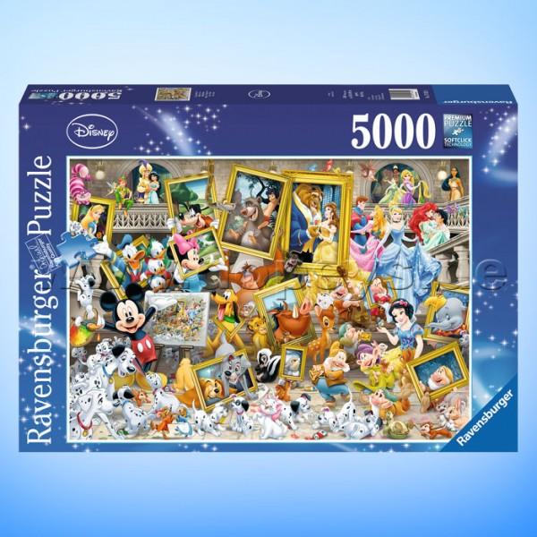 """Disney Puzzle """"Micky als Künstler"""" von Ravensburger 17432"""