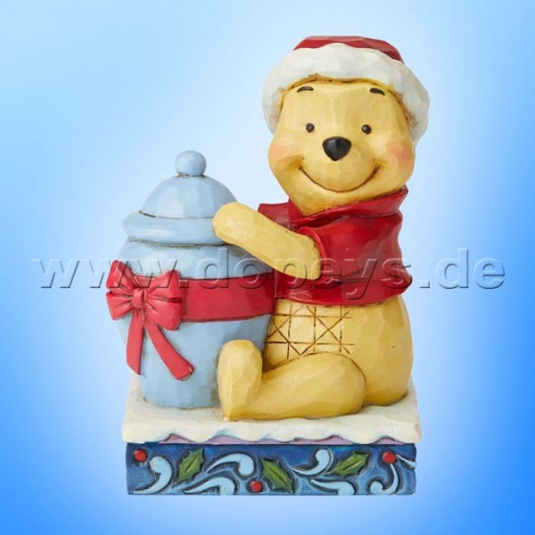 Holiday Hunny (Weihnachts-Winnie Puuh) Figur von Disney Traditions / Jim Shore - Enesco 6002845