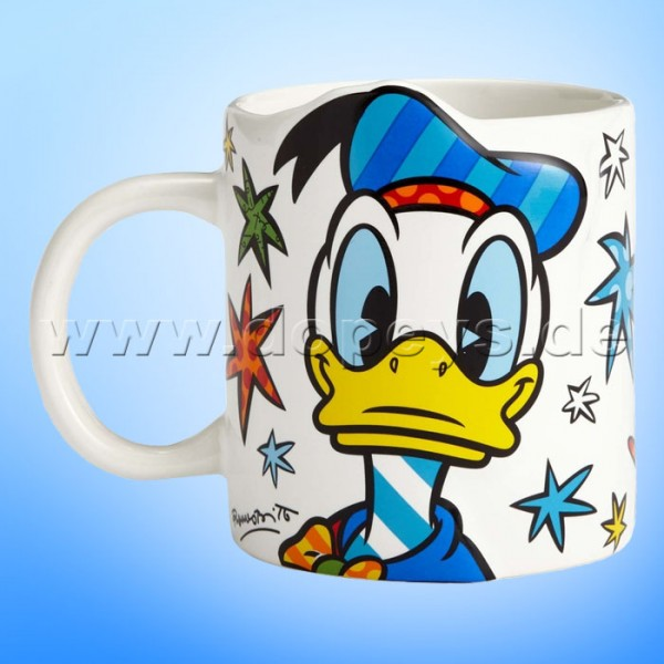 "Disney by Britto Tasse von Enesco ""Donald Duck Kaffeebecher"" 4057047."