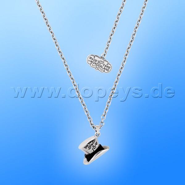 Disney Halskette - Hutmacher (Alice im Wunderland) in Weißgold von Couture Kingdom 12100271