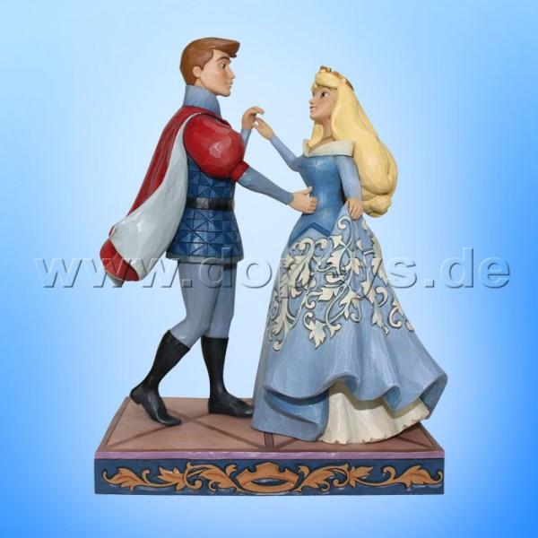 "Disney Traditions / Jim Shore Figur von Enesco ""Swept Up in the Moment (Aurora und Prinz)"" 4059733"