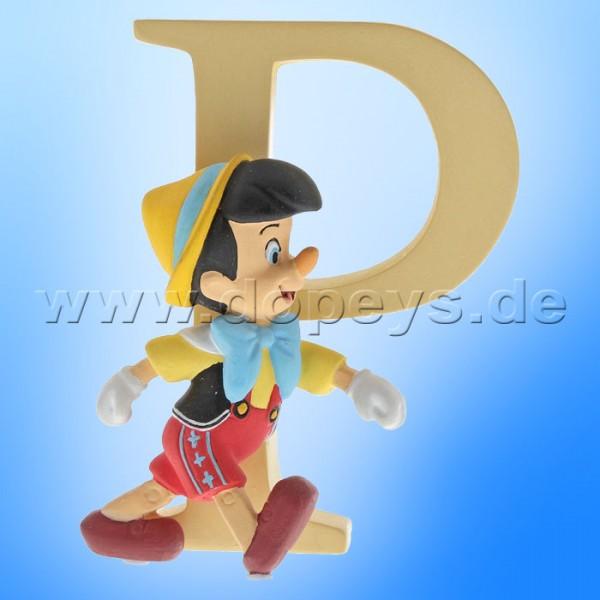 "Enchanting Disney Collection - Buchstabe ""P"" - Pinocchio Figur von Enesco A29561"