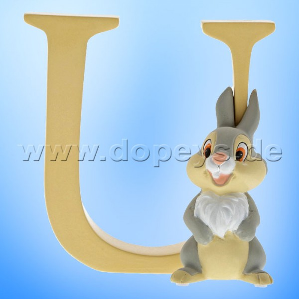 "Enchanting Disney Collection - Buchstabe ""U"" - Klopfer Figur von Enesco A29566"