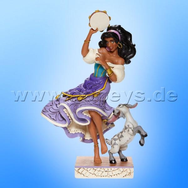 Disney Traditions - Twirling Tambourine Player (Esmeralda & Djali) von Jim Shore 6008071