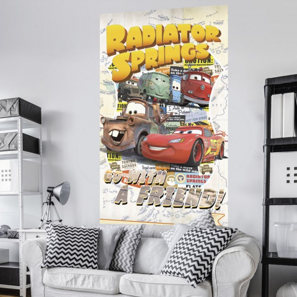 "Disney Vlies Fototapete ""Cars Take The Open Road"" 1,20m x 2,00m"