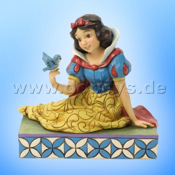 """Disney Traditions / Jim Shore Figur von Enesco """"Gentleness & Harmony (Schneewittchen mit Vogel)"""" 4037512."""