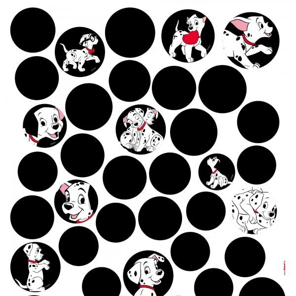 """Disney Wandsticker / Wandaufkleber """"101 Dalmatiner Dots"""""""