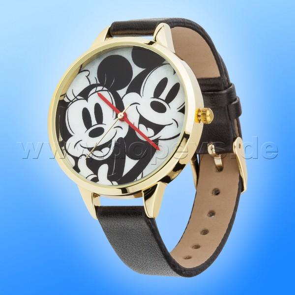 "Disney Armbanduhr ""Mickey & Minnie"" elegant hochwertige Sammleruhr"