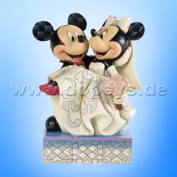 Disney Traditions - Congratulations (Mickey & Minnie als Hochzeitspaar) von Jim Shore 4033282