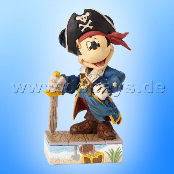 "Disney Traditions / Jim Shore Figur von Enesco ""Set Sail For Adventure (Pirat Mickey)"" 4056760."