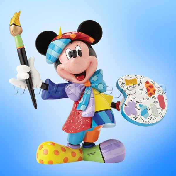 "Disney by Britto Figur von Enesco ""Mickey Maus als Maler"" 4055227"