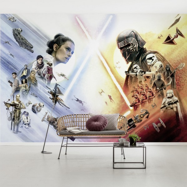 "Star Wars Fototapete ""Star Wars EP9 Movie Poster Wide"""