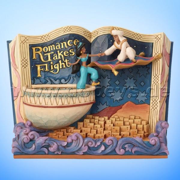 Romance Takes Flight (Aladdin Märchenbuch) Figur von Disney Traditions / Jim Shore - Enesco 6001270