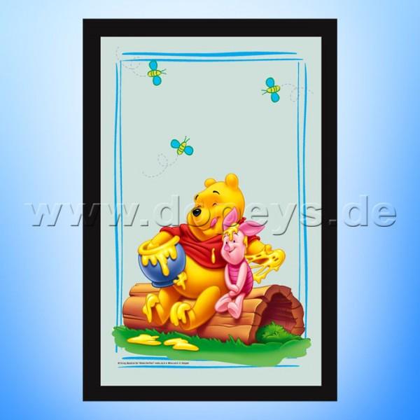 """Disney Wandspiegel / Motivspiegel - Winnie Puuh & Ferkel """"Honigfreunde"""" 20 x 30cm HN18431"""