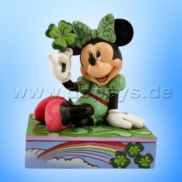 Disney Traditions - Shamrock Wishes (St. Patrick's Day Minnie mit Kleeblatt) von Jim Shore 6010109
