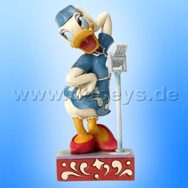 "Disney Traditions / Jim Shore Figur von Enesco. ""Swinging Melody (Sängerin Daisy Duck)"" 4050386."