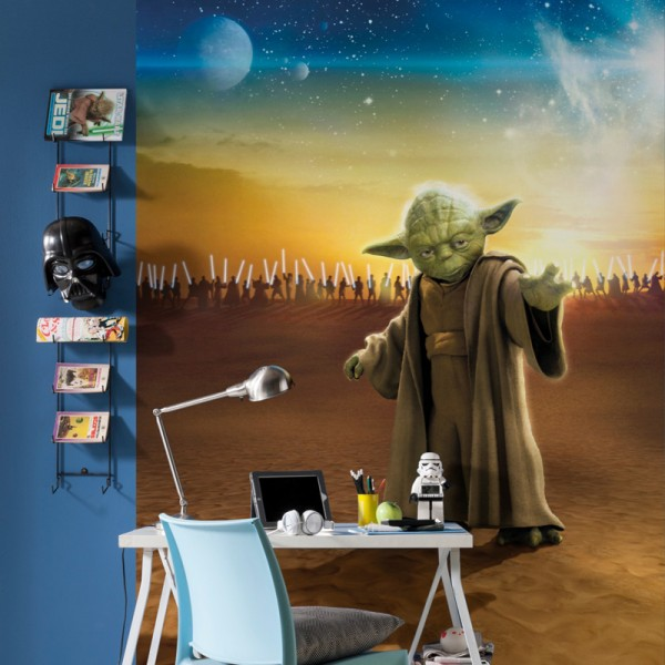 "Star Wars Fototapete ""Star Wars Master Yoda"""