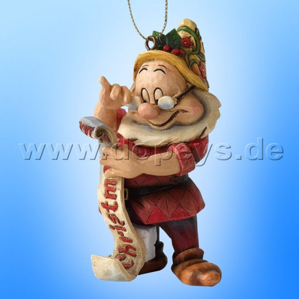 "Disney Traditions / Jim Shore Figur von Enesco ""Chef Ornament Baumanhänger"" A9040."