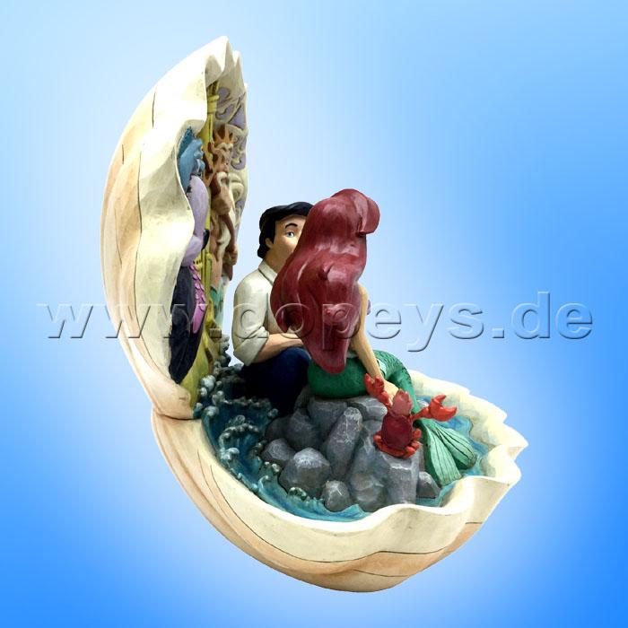 NEU Arielle Seashell Scenario The Little Mermaid Enesco Resin 6005956