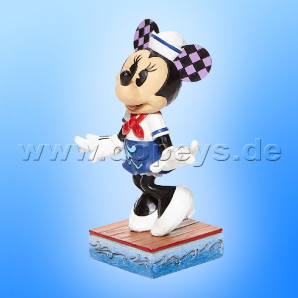 Disney Traditions - Sassy Sailor (Minnie als Matrose Personality Pose) von Jim Shore 6008080