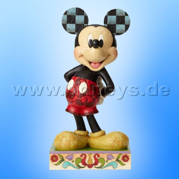 "Disney Traditions / Jim Shore Figur von Enesco ""The Main Mouse (Große Mickey Maus Figur)"" 4056755."