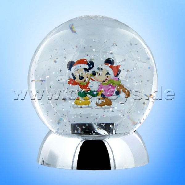 "Disney Department 56 von Enesco ""Mickey & Minnie Maus"" Waterdazzler Globe (Schneekugel beleuchtet) 4059485"
