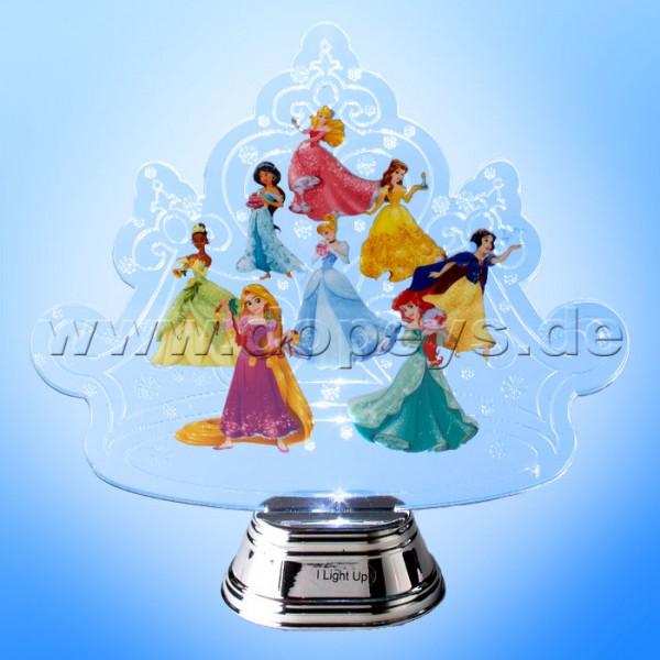 """Disney Department 56 von Enesco """"Princess Crown Holidazzler"""" (Weihnachtsaufsteller beleuchtet) 4058004"""