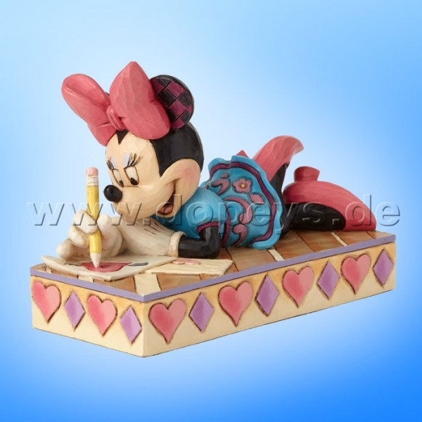 "Disney Traditions / Jim Shore Figur von Enesco ""XOXO Minnie"" 4055438."