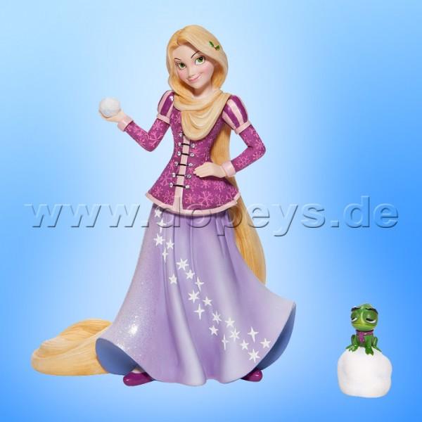 Disney Showcase Collection - Weihnachts-Rapunzel mit Pascal Figur von Enesco 6006275 Couture de Force