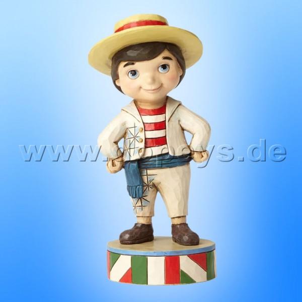 "Disney Traditions / Jim Shore Figur von Enesco ""Welcome to Italy (Small World Italien)"" 4057958."