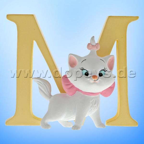 "Enchanting Disney Collection - Buchstabe ""M"" - Marie Figur von Enesco A29558"