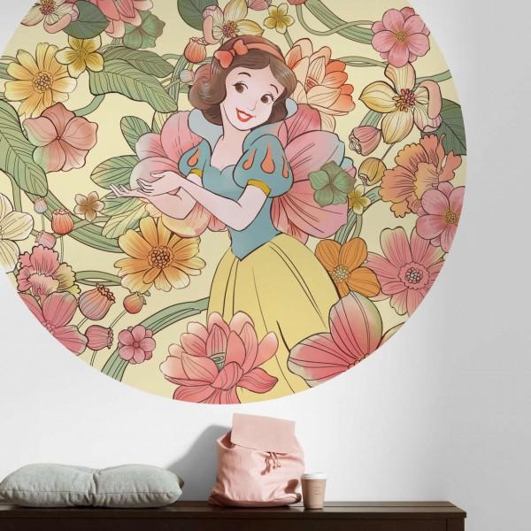 """Disney Wandsticker / Wandaufkleber Schneewittchen """"Snow White Endless Summer"""" rund 125cm x 125cm"""
