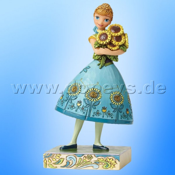 "Disney Traditions / Jim Shore Figur von Enesco.""Spring in Bloom (Anna Party-Fieber)"" 4050882."