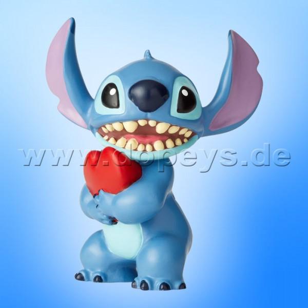 """Disney Showcase Collection von Enesco """"Stitch mit Herz"""" Figur 6002185"""