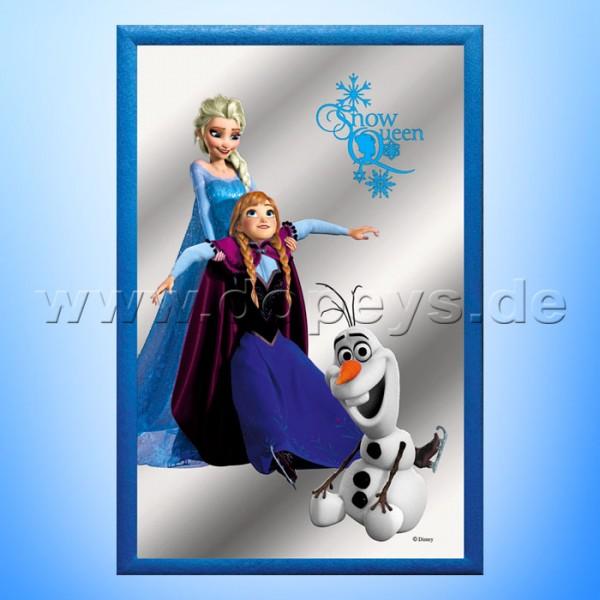 """Disney Wandspiegel / Motivspiegel - Die Eiskönigin """"Anna, Elsa & Olaf"""" 20 x 30cm HN18093"""