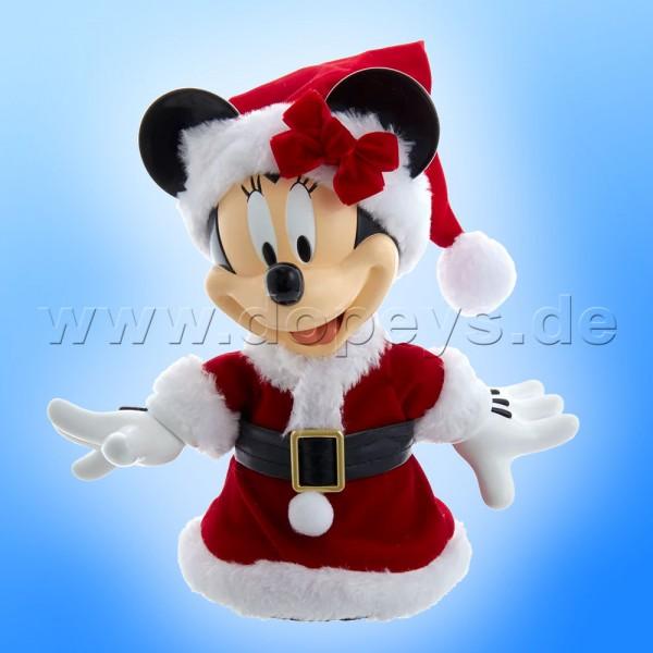 """Kurt S. Adler - Disney Weihnachtsbaumspitze """"Minnie Maus"""" mit beweglichen Armen DN9211"""