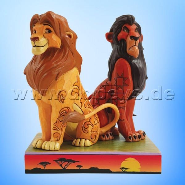 Disney Traditions - Proud and Petulant (Simba & Scar) von Jim Shore 6010093