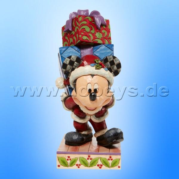 Disney Traditions - Here Comes Old St. Mick (Weihnachtsmann Mickey bringt Geschenke) von Jim Shore 6008978