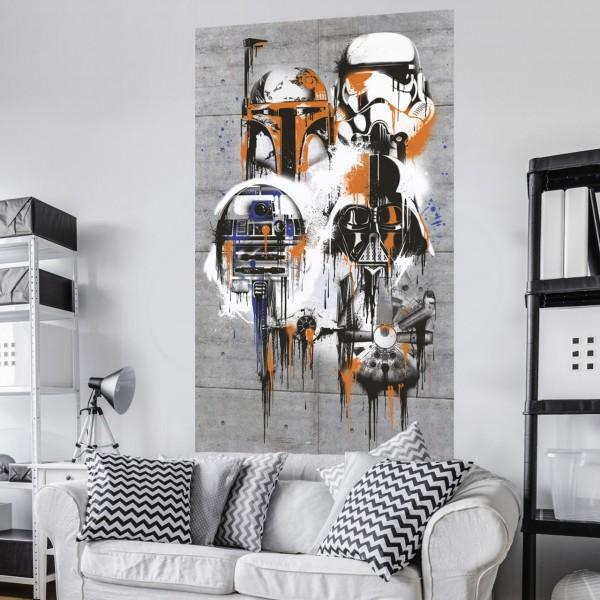 """Star Wars Vlies Fototapete """"Star Wars Celebrate The Galaxy"""" 1,20m x 2,00m"""