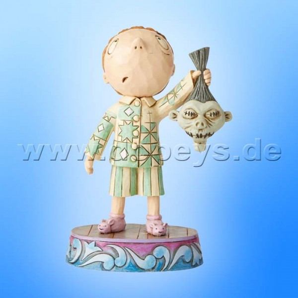 Ghastly Gifts (Timmy mit Schrumpfkopf) Figur von Disney Traditions / Jim Shore - Enesco A29921