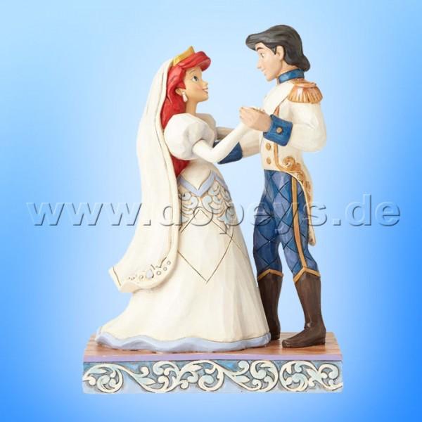 "Disney Traditions / Jim Shore Figur von Enesco ""Wedded Bliss (Arielle & Eric Hochzeitsfigur)"" 4056749."
