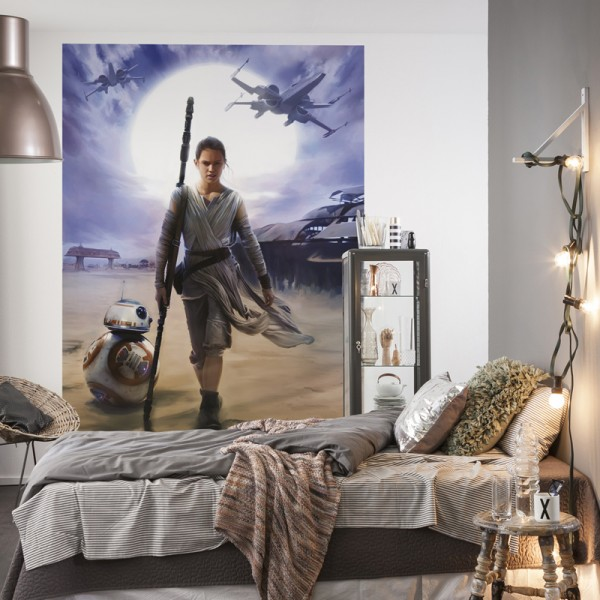 "Star Wars Fototapete ""Star Wars Rey"""