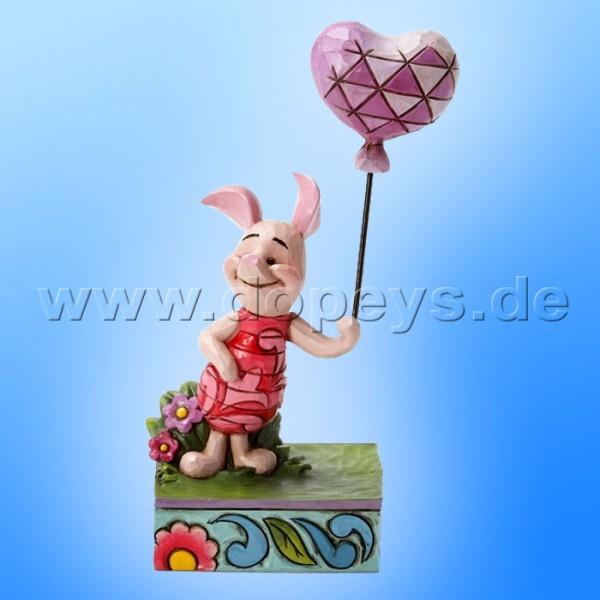 "Disney Traditions / Jim Shore Figur von Enesco ""Heart On A String (Ferkel)"" 4032864."