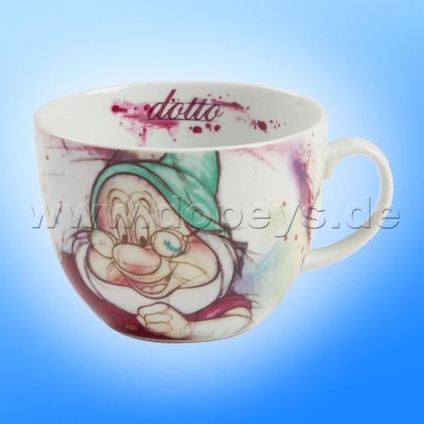 """Große Disney Cappuccino Tasse """"Chef"""" italienisches Design, 60 cl"""
