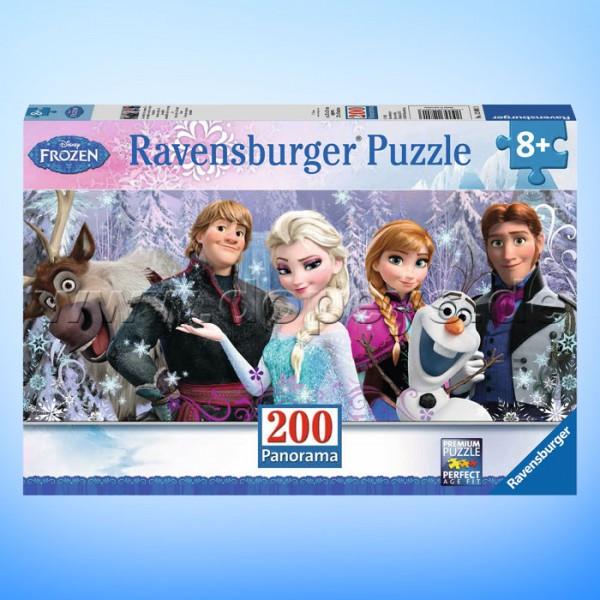 """Disney Puzzle Die Eiskönigin """"Arendelle im ewigen Eis"""" von Ravensburger 12801"""