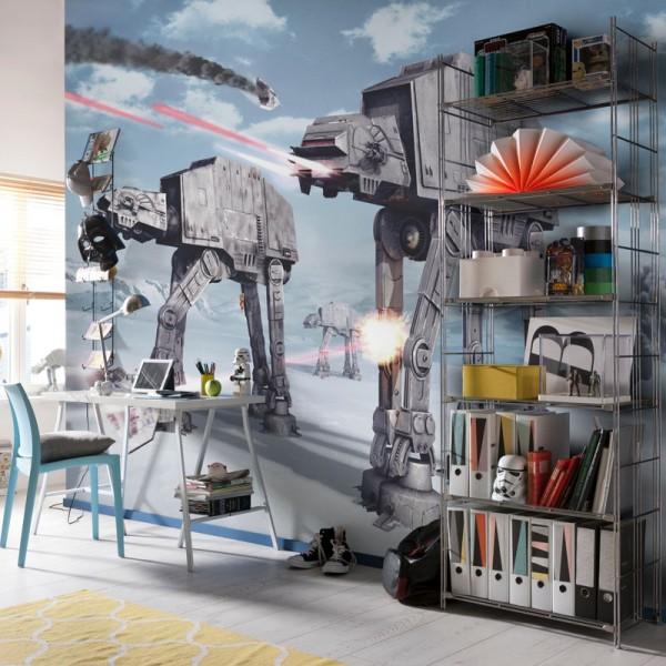 """Star Wars Fototapete """"Star Wars Battle of Hoth"""""""