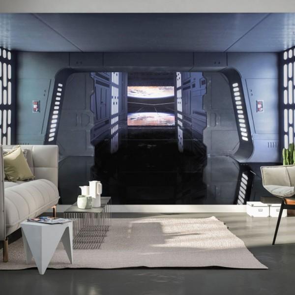 "Star Wars Vlies Fototapete ""Star Wars Death Star Floor"" 4,00m x 2,50m"