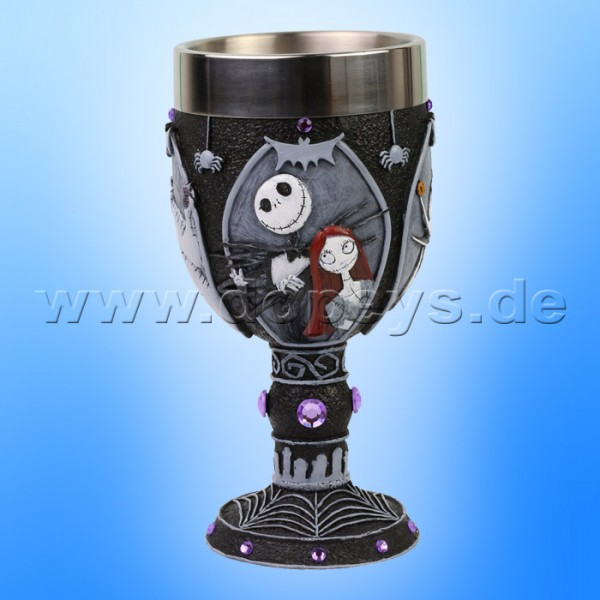 "Disney Showcase Collection - ""Nightmare Before Christmas"" dekorativer Schmuck-Kelch von Enesco 6007191"